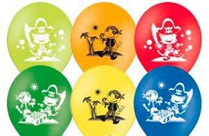 Гелевые шарики с рисунком Киев