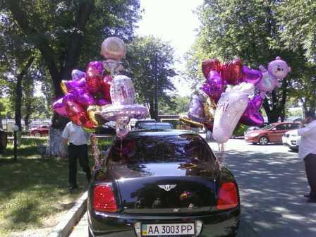 Купить шарики воздушные в Киеве