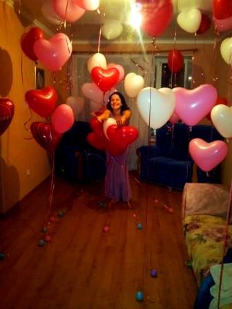 Поздравление девушки с Днем Святого Валентина