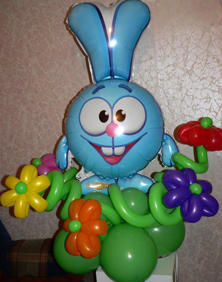 Воздушные шарики на детский праздник