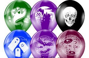 Гелевые шары с рисунком Страшилки