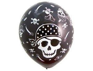Гелевый шар Череп Пирата