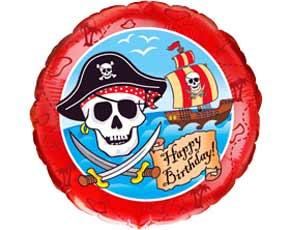 Гелевый шар Пират