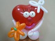 Поздравление с Днем Влюбленных - Живое сердечко