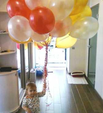 Воздушные шары в день 8 Марта лучший подарок для всех!