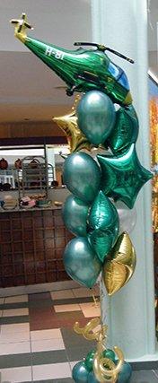 Букет шаров Подарок мужчине на 23 февраля