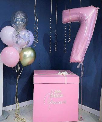 Фигура из шаров - символ года