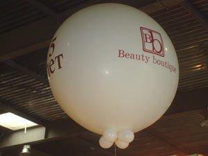 Большой воздушный шар 1,5 м на выставке