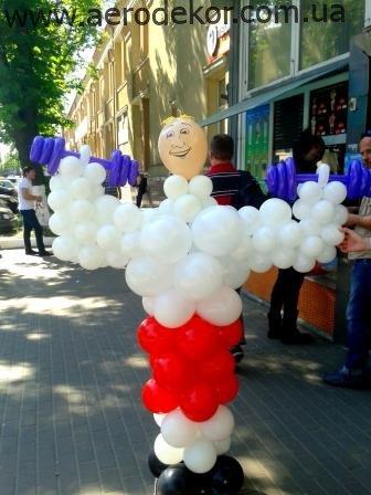 Подарки для мужчин из воздушных шаров