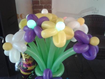 Необычный подарок из шариков на день рождения