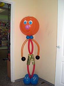 Фигура из шаров - настоящий сюрприз