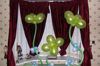 Оформление шарами. День рождения