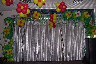 Оформление Выпускного Вечера воздушными шарами Киев