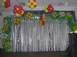 Школьные праздники - оформление шарами
