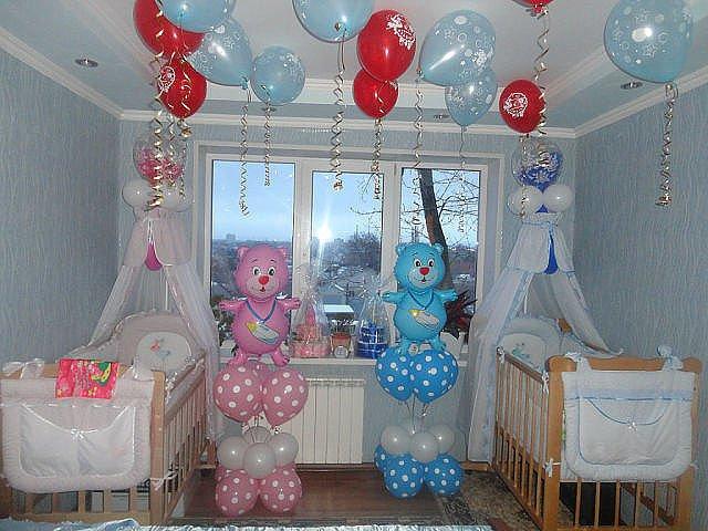 Украшение комнаты новорожденных