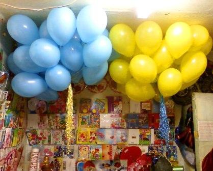 Воздушные шары на 1 сентября в школу