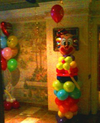 Заказать Клоуна из шариков