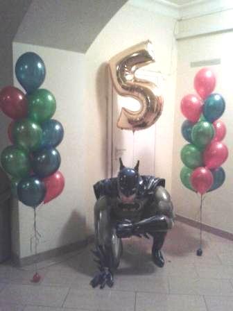 Шары на день рождения для мальчика 5 лет