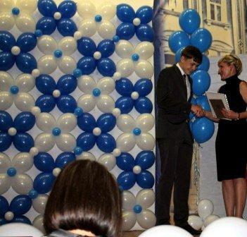 Воздушные шарики на Выпускной Вечер