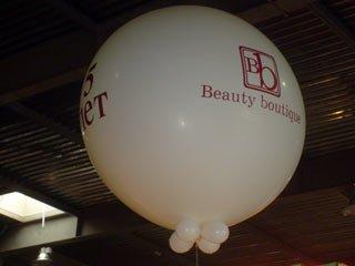 Большой воздушный шар на выставке