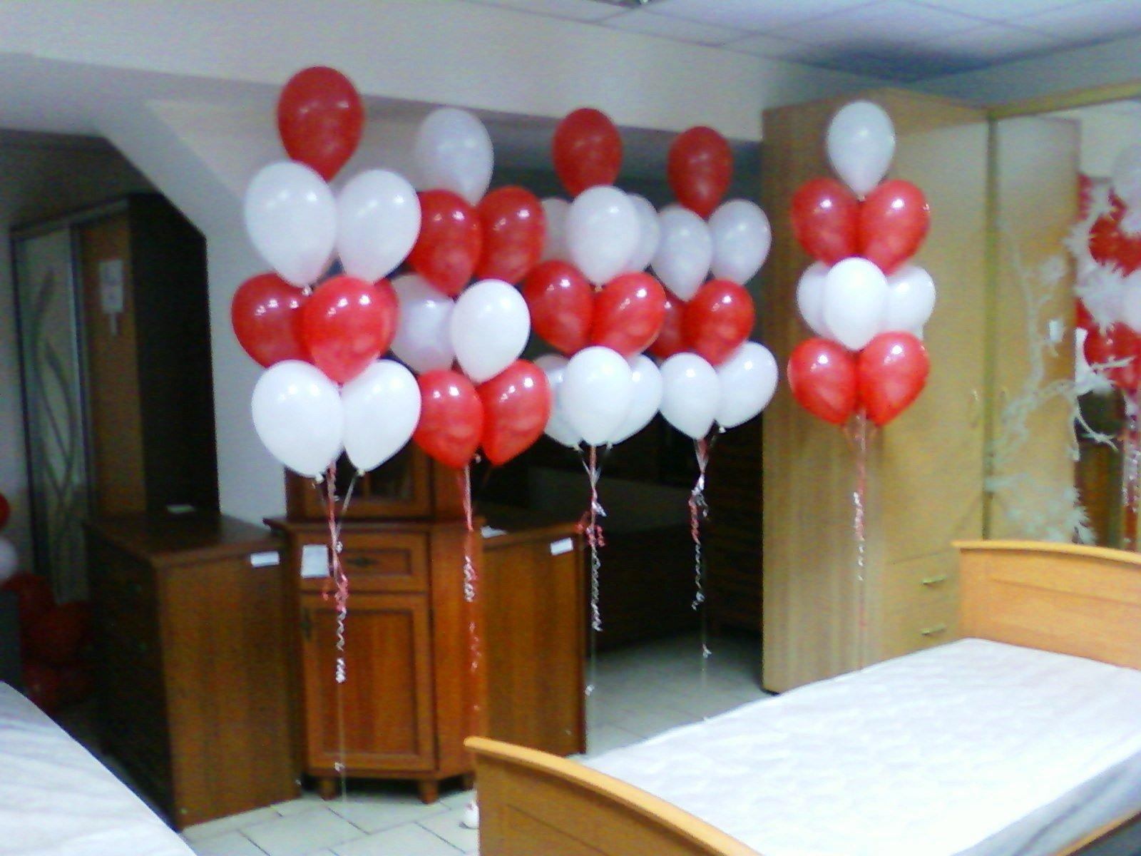 Открытие мебельного магазина - букеты из шаров