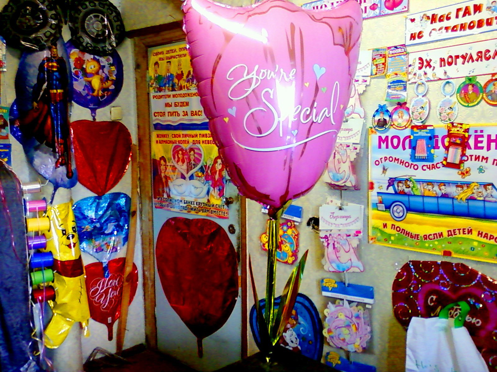 Ходячий шар Тюльпан - оригинальный подарок