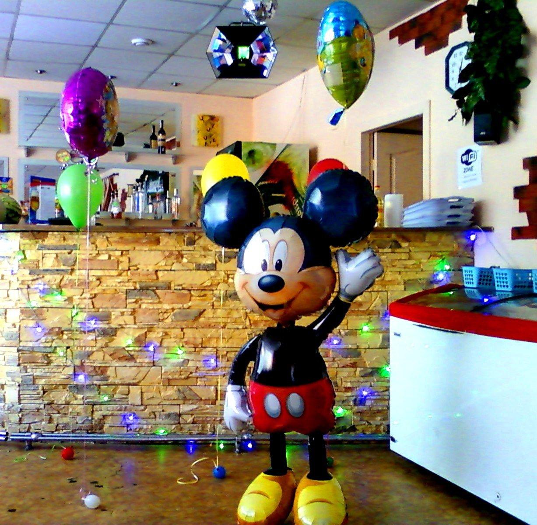Украшение детского праздника шариками - Ходячий шар Микки маус