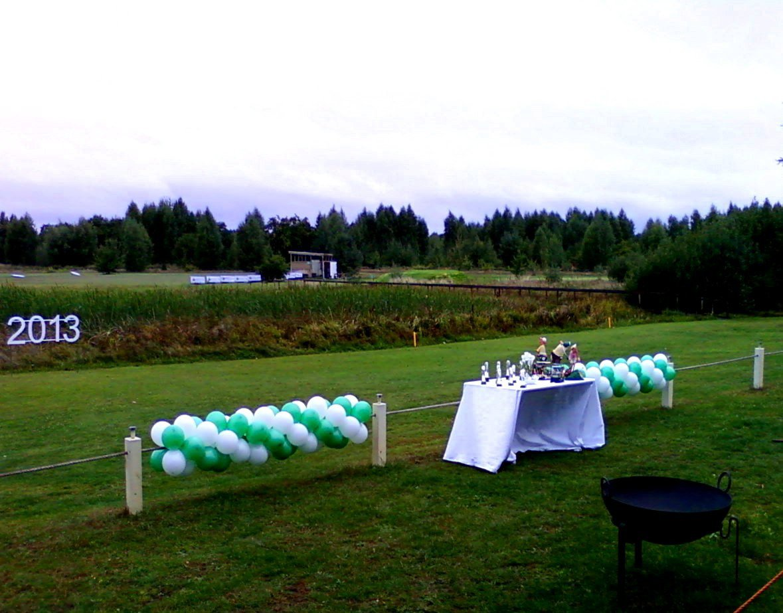Открытие гольф клуба