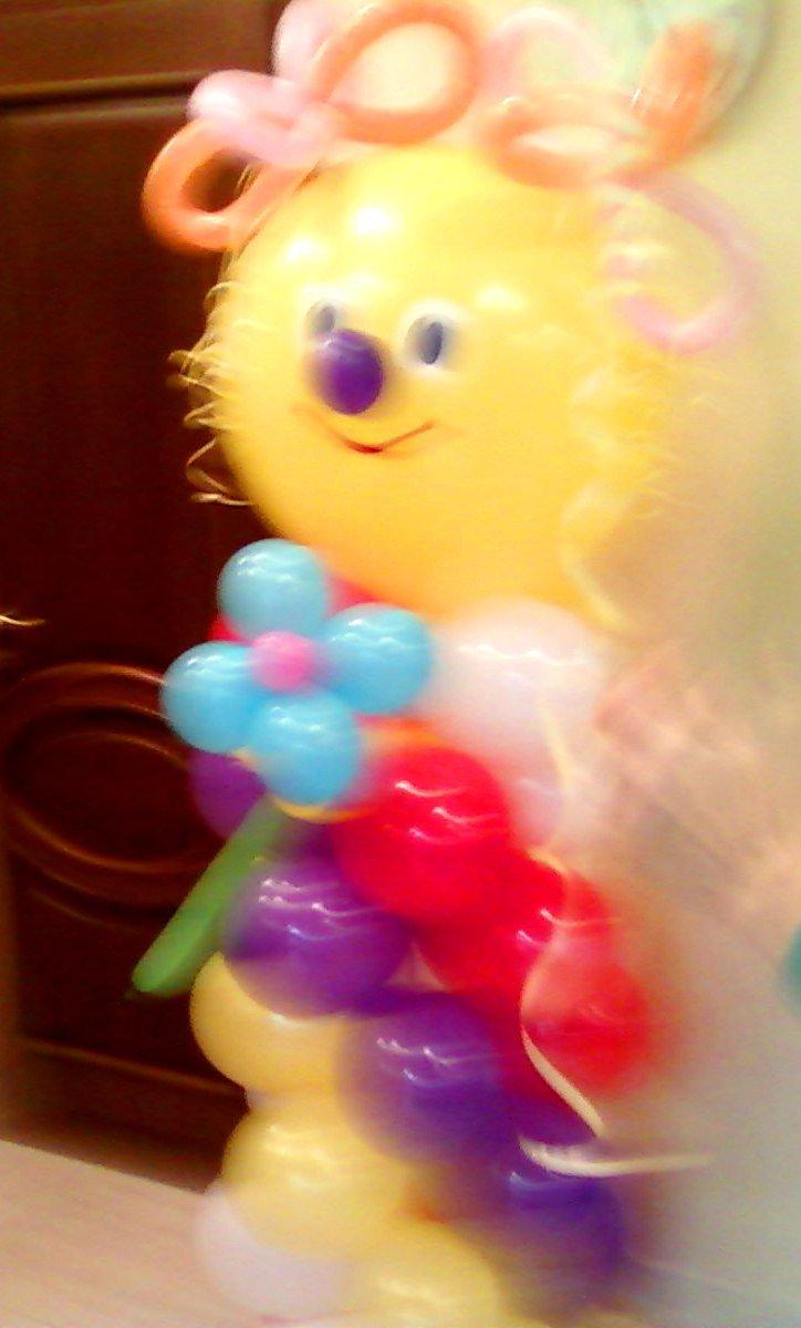 Подарок ребенку из воздушных шариков