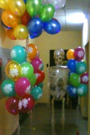 Воздушные шары в день рождения лучший подарок