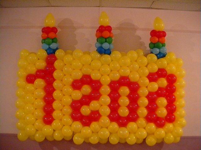 Как украсить беседку на день рождения из шариков своими руками