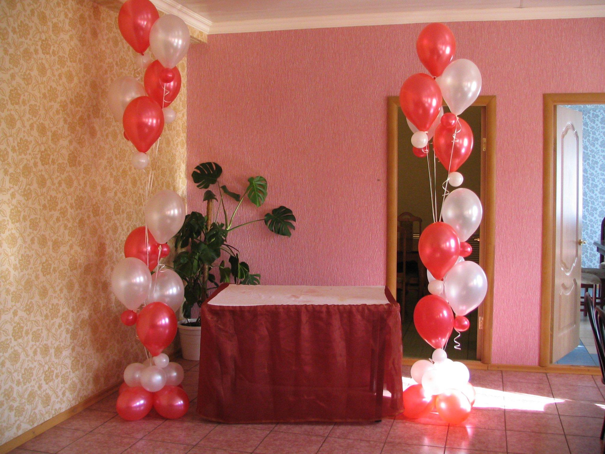 Букет воздушных шаров - украшение любого зала