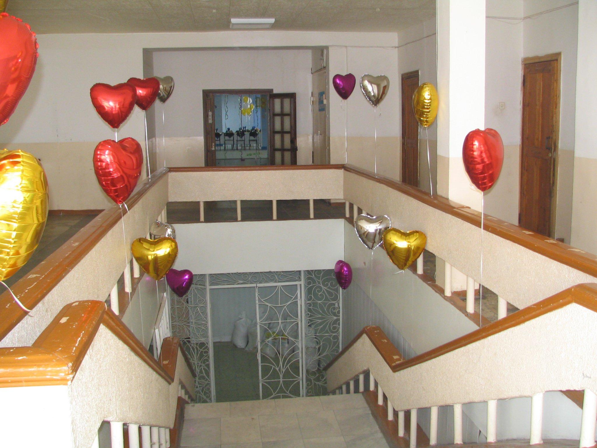 Офрмление корпоративного праздника шарами