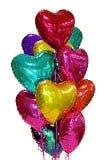 Букет шаров Фольгированные сердца