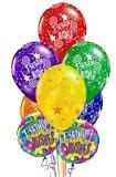 Букет воздушных шаров на День рождения