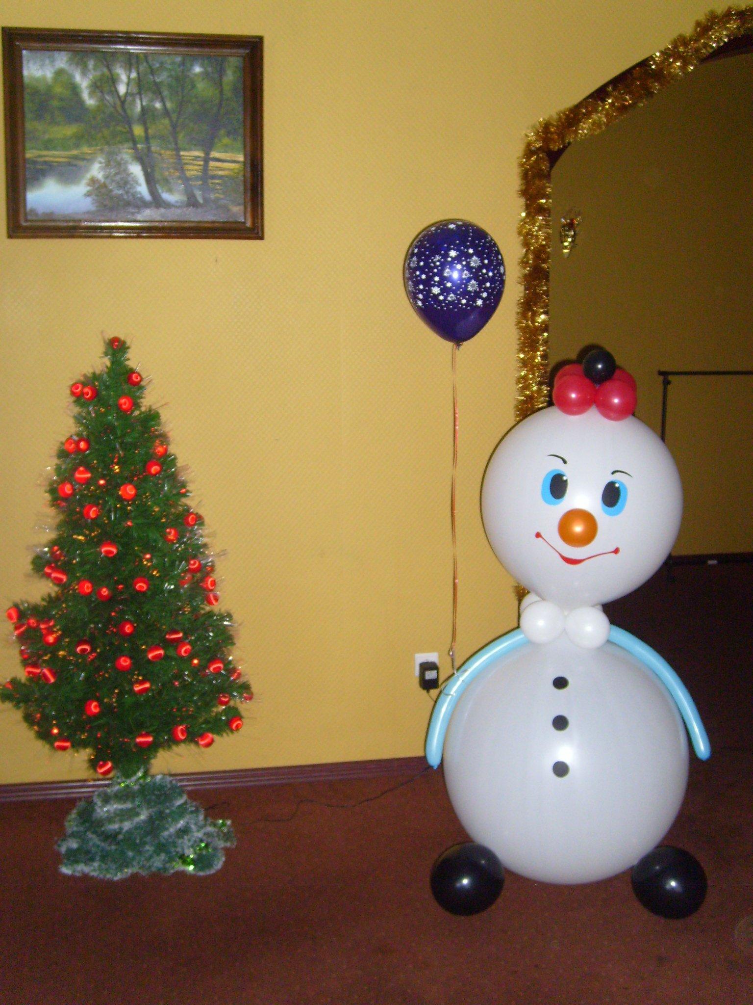 Оригинальный подарок Снеговик