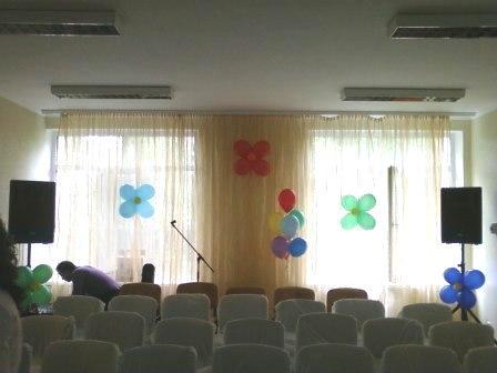 Выпускной вечер воздушные шары Киев