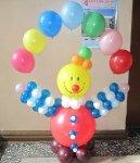 фигура Клоун и шарики
