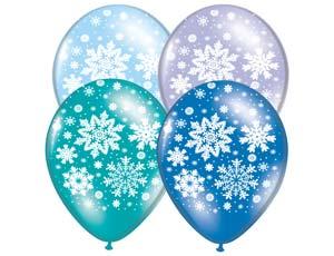 КУпить Воздушные шарики Снежинки в Киеве