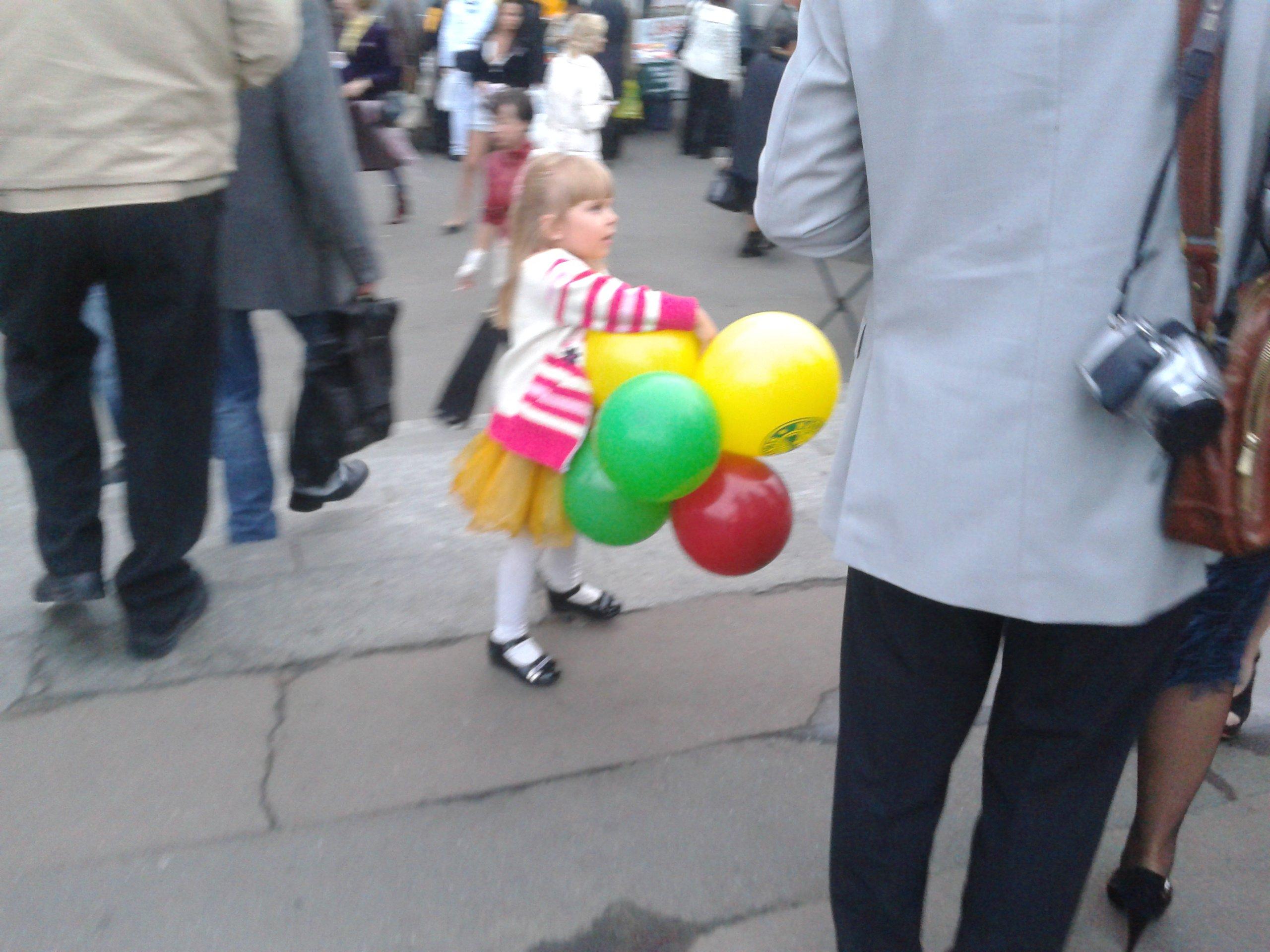 Воздушные шары на корпоратив