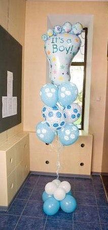 Подарок на рождение - букет из шаров