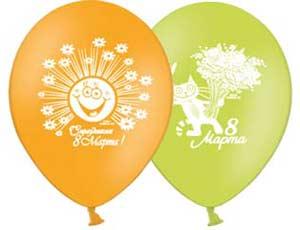 Заказать шарики в Киеве к 8 марта