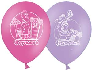 Купить Гелевые шары Чебурашка