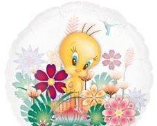 Панорамный шар из фольги Твити