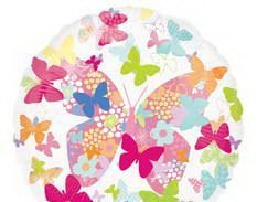 Воздушный Шар панорамный Бабочки
