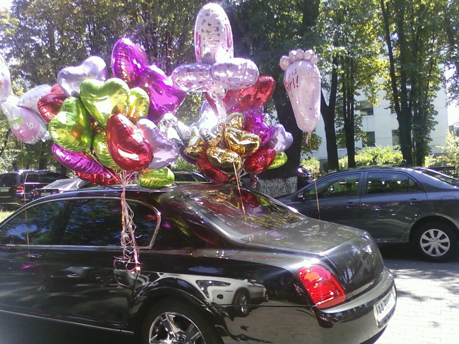Гелевые шарики в Киеве на рождение дочери