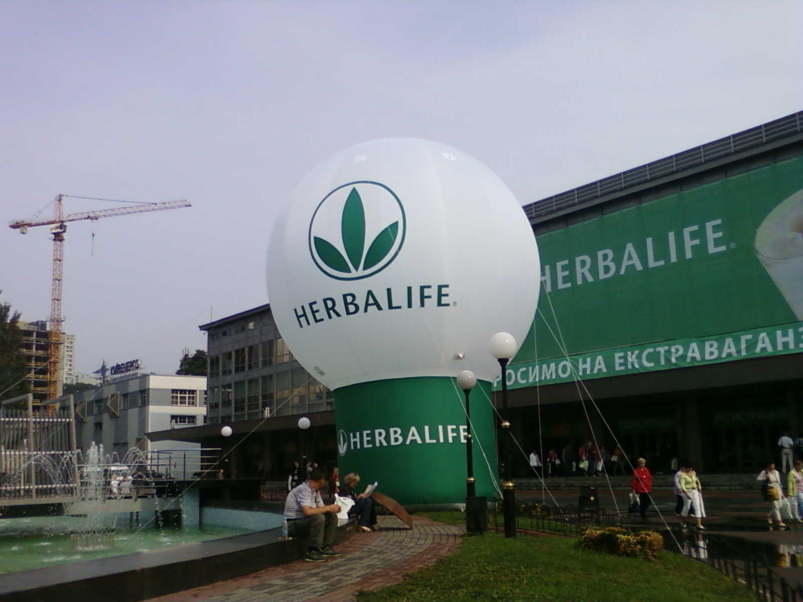 Большой шар - пневмофигура