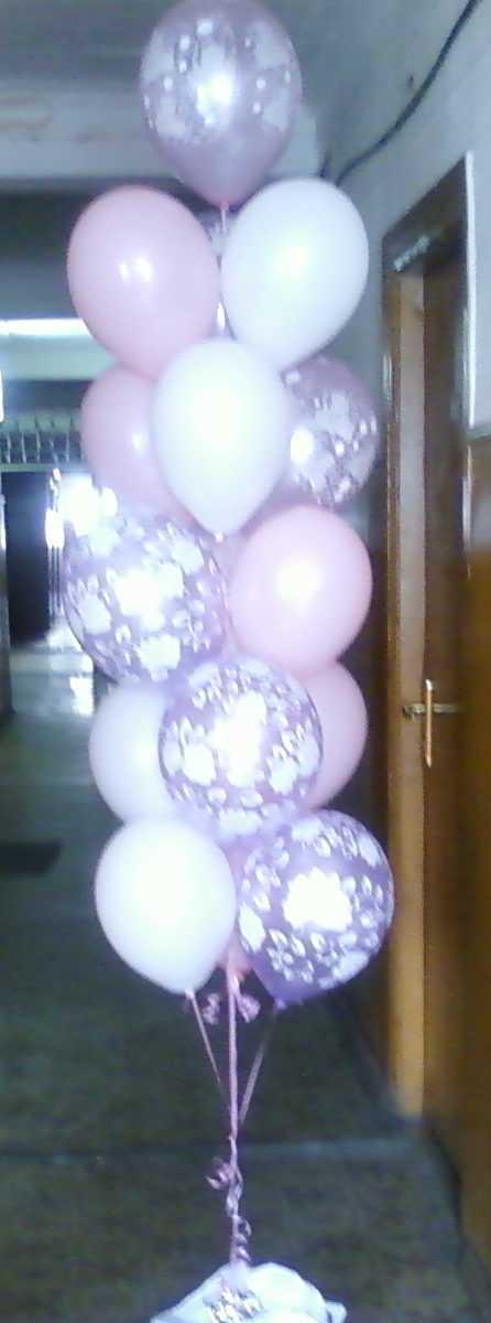 Букет из шаров Нежность лучший подарок девушке