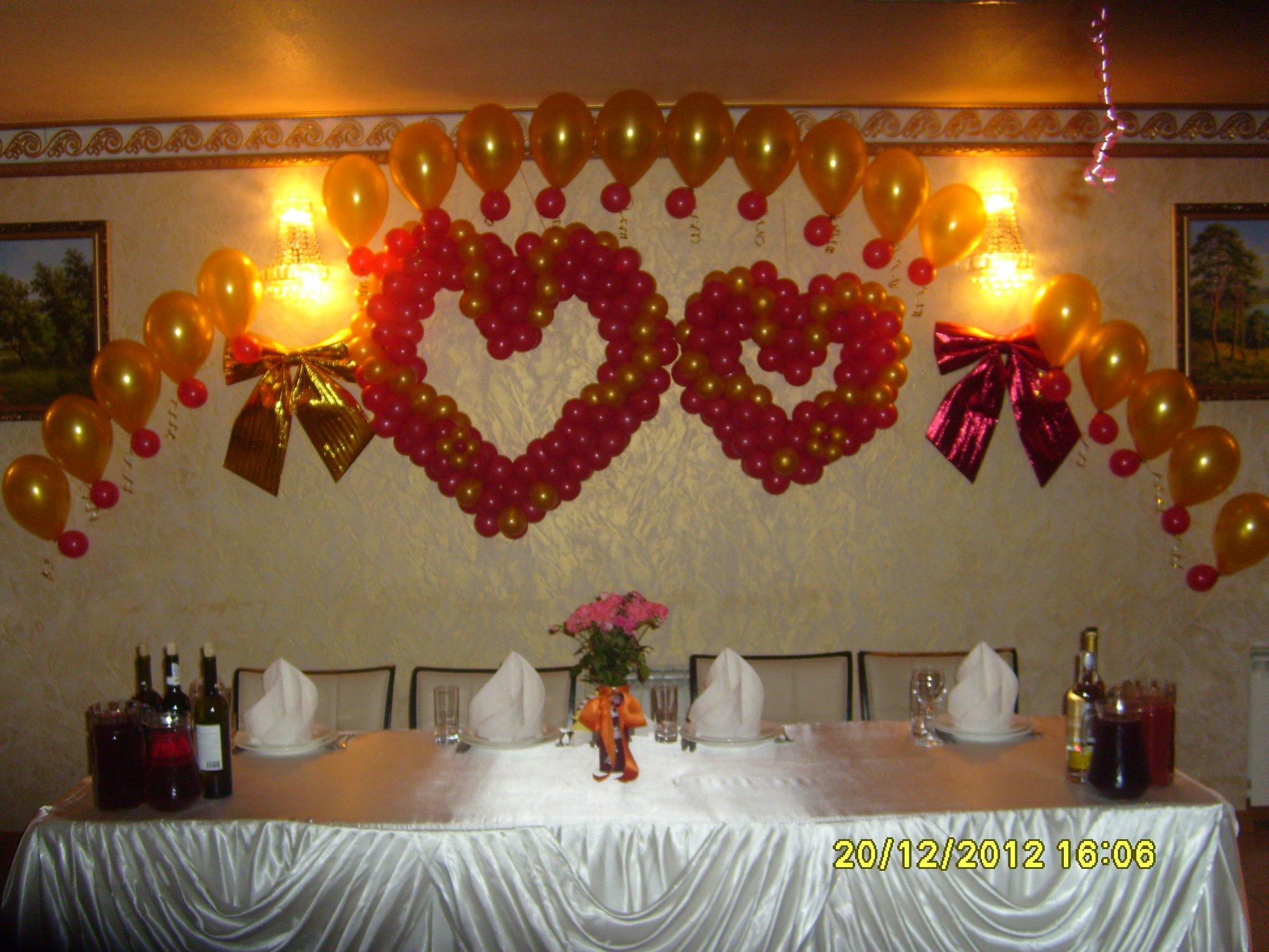 Украшение свадьбы подчеркивает стиль зала